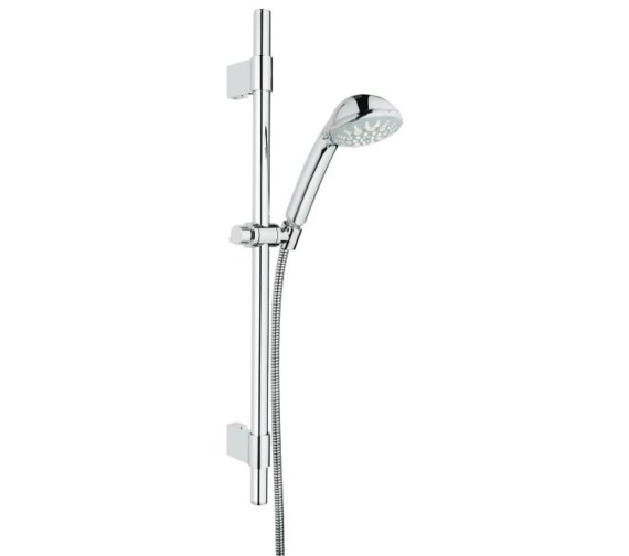 Grohe Relexa 100 Five Spray Pattern Shower Rail Set