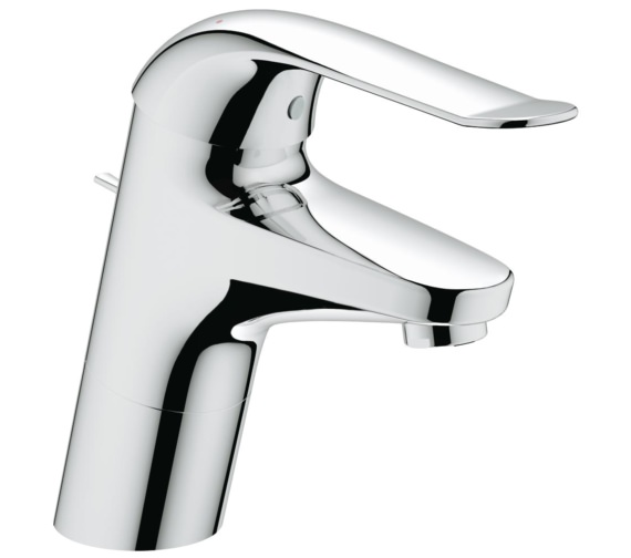 Grohe Euroeco Special Deck Mounted Basin Mixer Tap With Pop-Up Waste