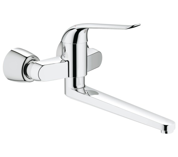 Grohe Euroeco Special Wall Mounted Single Lever Basin Mixer Tap