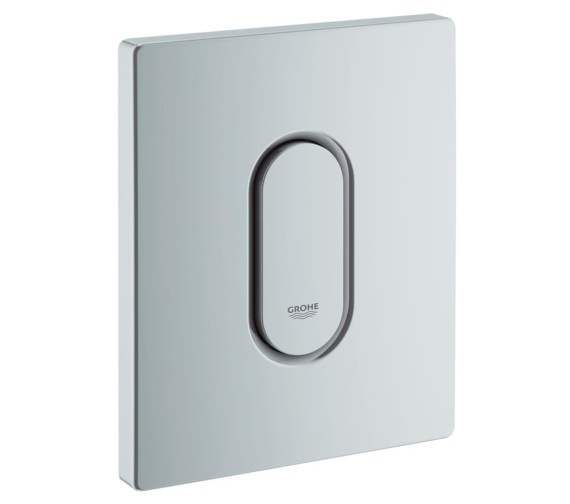 Additional image of Grohe Arena Cosmopolitan Actuation Alpine White Flush Plate