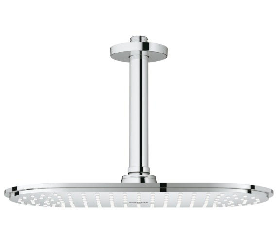 Grohe Rainshower Veris 300mm Head Shower With 142mm Ceiling Arm