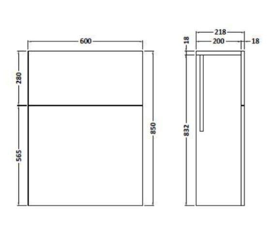 Technical drawing QS-V90094 / FMU546C