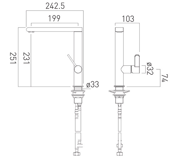 Technical drawing QS-V88041 / CUC-1006-C/P