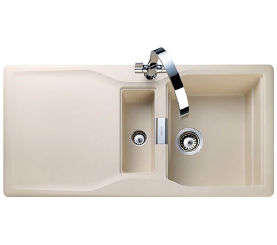 Rangemaster Magma 1.5 Bowl Igneous Granite Sink - Stone Finish
