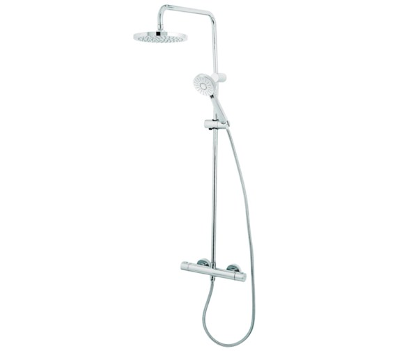 Deva Dynamic Cool To Touch Bar Shower With Diverter And Rigid Riser Kit
