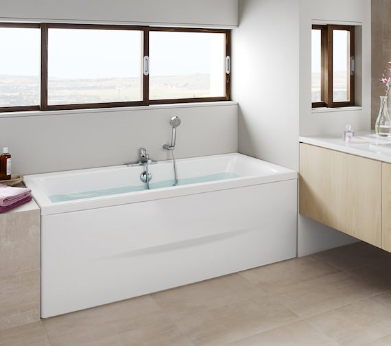 Roca Easy 1700mm Rectangular Double Ended Acrylic Bath
