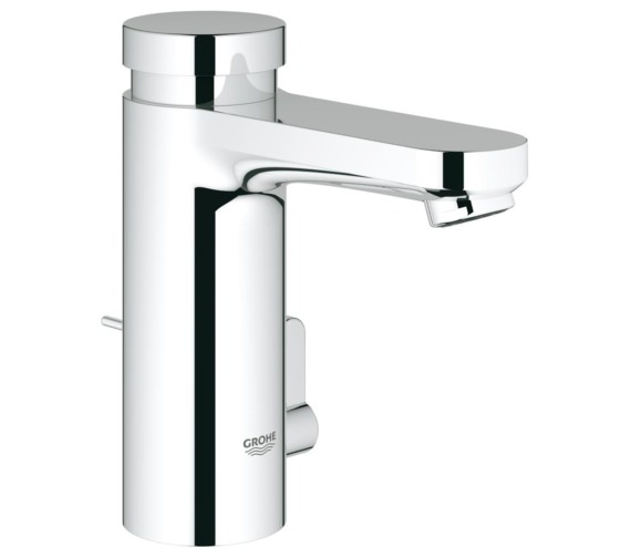 Grohe Eurosmart Cosmopolitan T Self Closing Basin Mixer Tap With Pop-Up Waste