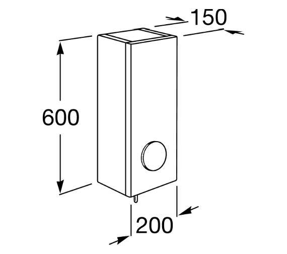 Technical drawing QS-V42258 / 856841806