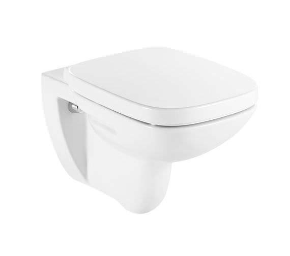 Roca Debba 355 x 400mm Vitreous China Wall Hung WC Pan