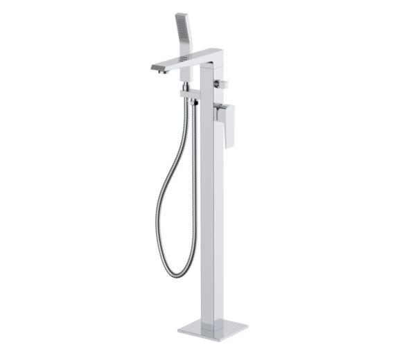 Phoenix Kiara Freestanding Mono Bath Shower Mixer Tap Chrome