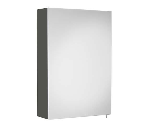Roca Luna 400 x 600mm Single Door Wall Hung Mirror Cabinet
