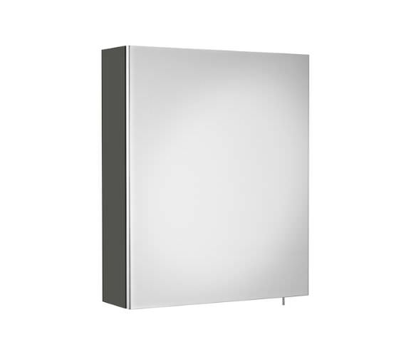 Roca Luna 500 x 600mm Single Door Wall Hung Mirror Cabinet
