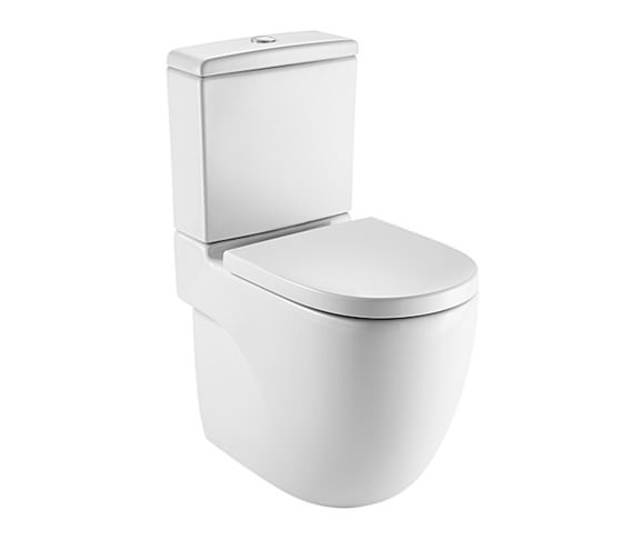 Roca Meridian-N Comfort Height Close Coupled WC Pan And Cistern