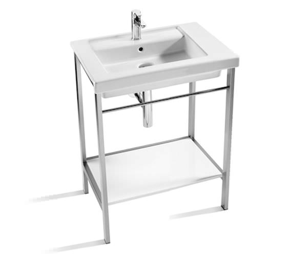 Roca Prisma 600mm Stainless Steel Base Unit With Basin