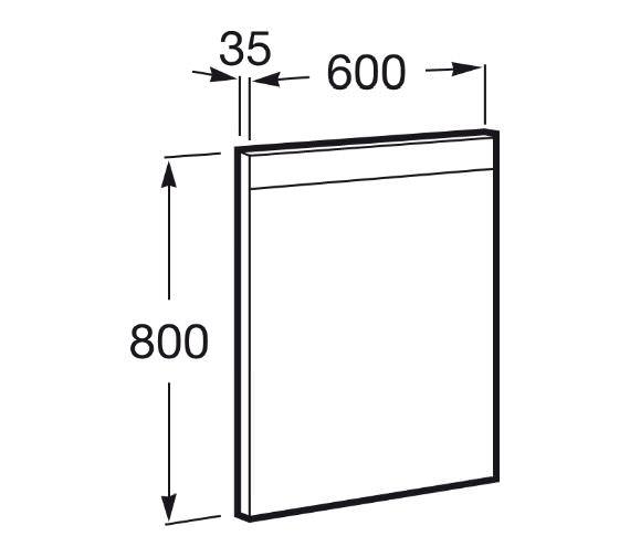 Technical drawing QS-V42269 / 812257000