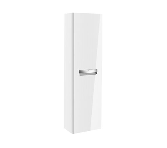 Roca The Gap 1200mm Gloss White Single Door Column Unit