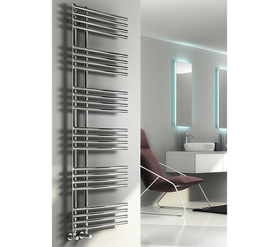 Alternate image of Reina Elisa 500 x 1550mm Designer Radiator - RND-ES515