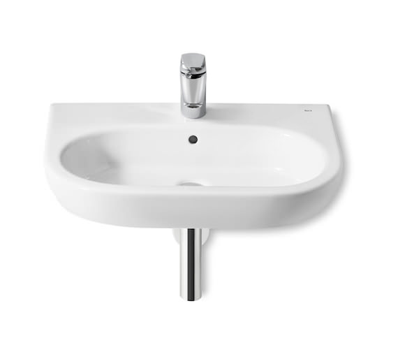Roca Meridian-N 650 x 460mm Wall Hung Basin With 1 Taphole
