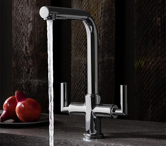 Crosswater Cucina Tropic Dual Control Kitchen Sink Mixer Tap