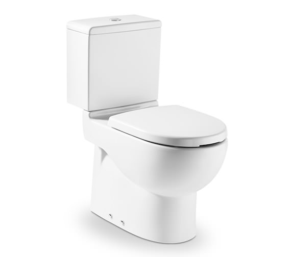 Roca Meridian-N Close-Coupled WC Pan With Dual Outlet