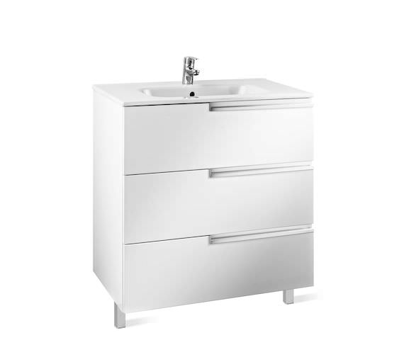 Roca Victoria-N Unik Luxurious 3-Drawer Wall Hung Unit 600mm With Basin