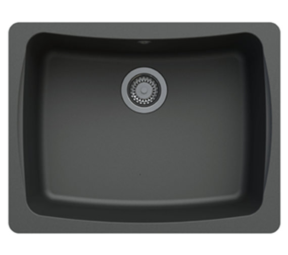 ... 484mm ROK Granite Graphite Grey 1B Undermount Sink ALU10RXHOMESK