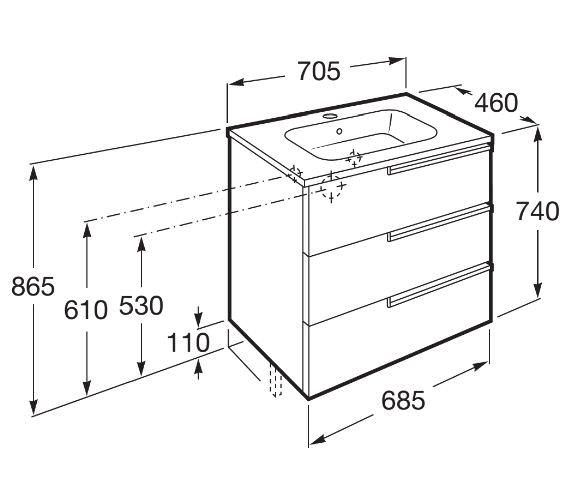 Technical drawing QS-V42287 / 855839806