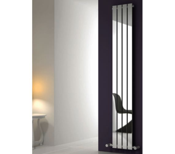 Alternate image of Reina Osimo 290 x 1800mm Designer Radiator Chrome - RND-OSM2918