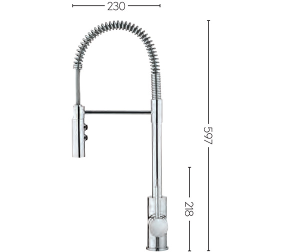 Technical drawing QS-V89087 / CO717DC