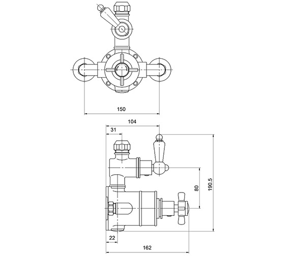 Technical drawing QS-V36576 / A3056