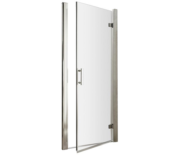 Lauren Pacific 900 x 1850mm Hinged Shower Door