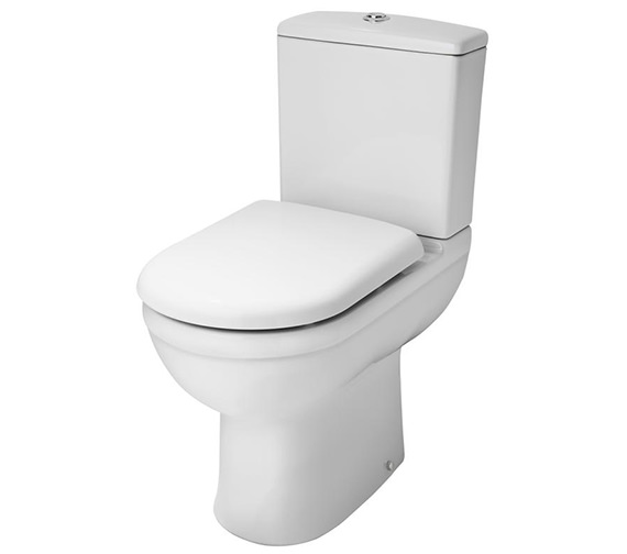 Premier Ivo 360mm Close Coupled Comfort Height WC Pan And Cistern