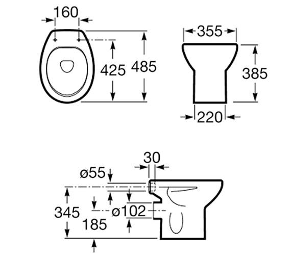 Technical drawing QS-V56779 / 344397005