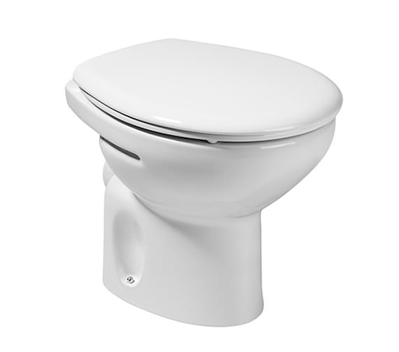 Roca Laura Low Level WC Pan With Horizontal Outlet