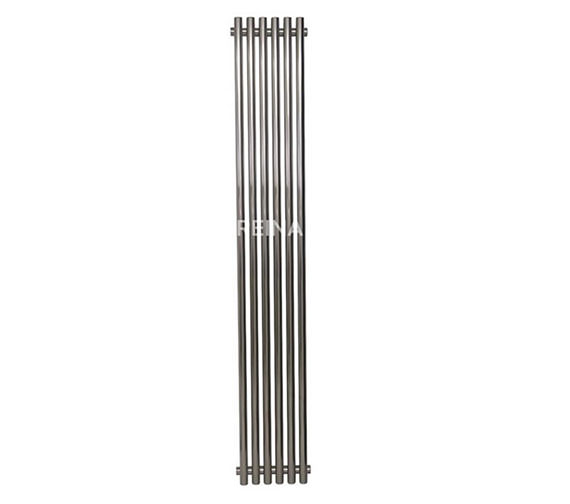 Reina Orthia 390x1800mm Stainless Steel Designer Radiator RNS-ORT3918