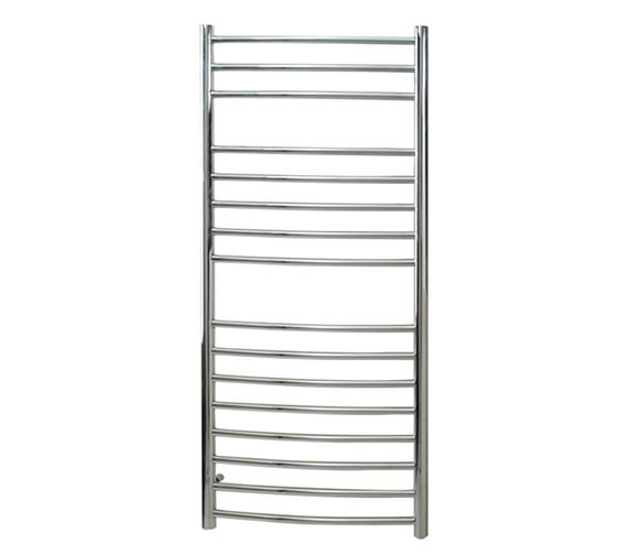 Reina Eos Curved Designer Radiator 600 x 1200mm Polished - RNS-ES6120