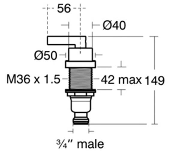 Technical drawing QS-V80435 / A3998AA
