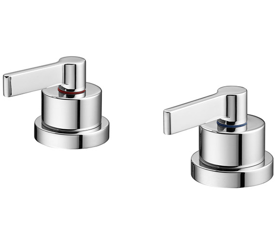 Ideal Standard Silver Idealfill Operating Handles