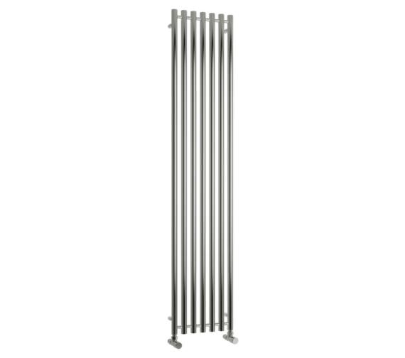 Reina Broni 374 x 1800mm Designer Radiator Polished - RNS-BR3718