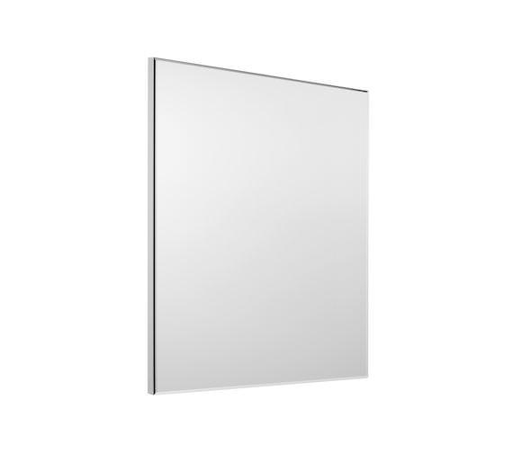 Roca Victoria-N 600 x 700mm Gloss White Mirror