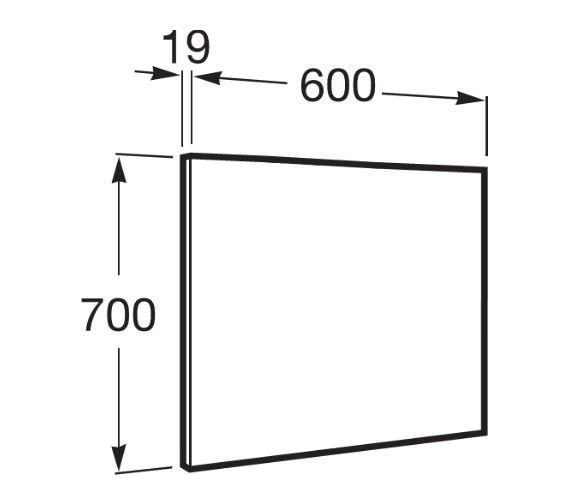 Technical drawing QS-V42292 / 856667806