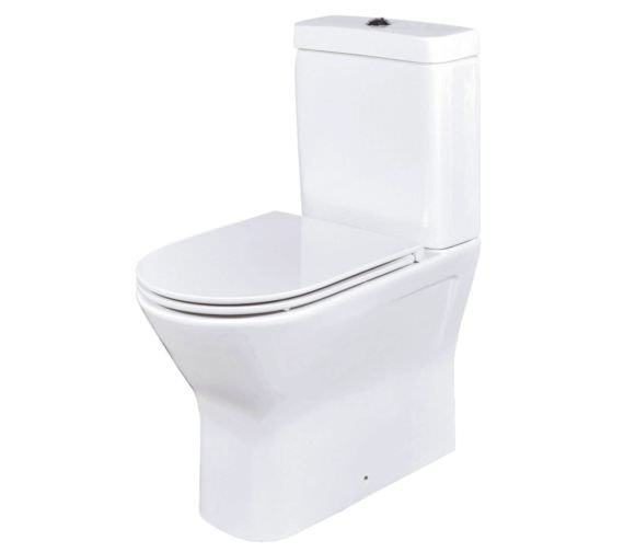 Phoenix Amore Close Back WC With Soft Close Seat And Cover