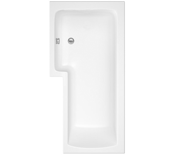 Lauren Square 1700 x 850mm Left Hand Acrylic Shower Bath