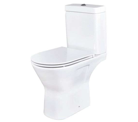 Phoenix Amore Open Back WC With Soft Close Seat And Cover