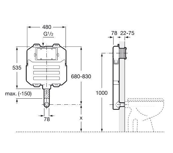 Technical drawing QS-V42299 / 890080200