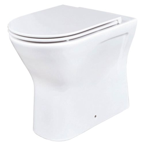 Phoenix Amore Back-To-Wall WC With Soft Close Seat And Cover
