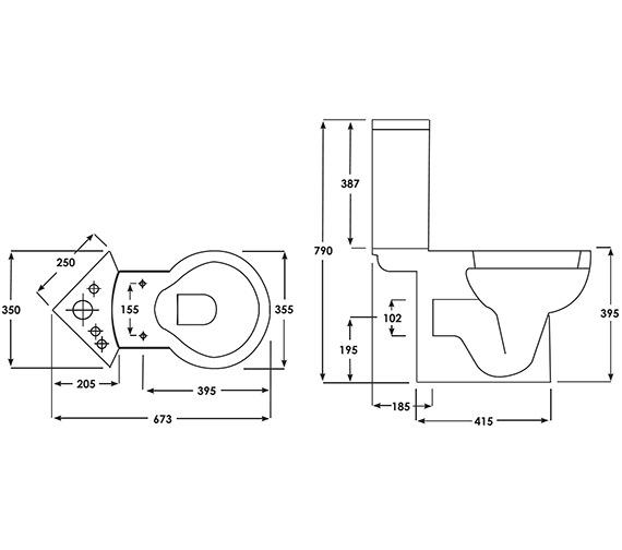 Technical drawing QS-V37724 / EVOPAN