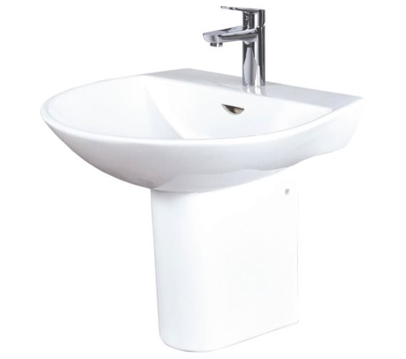 Phoenix Amore 550mm Basin With Semi Pedestal