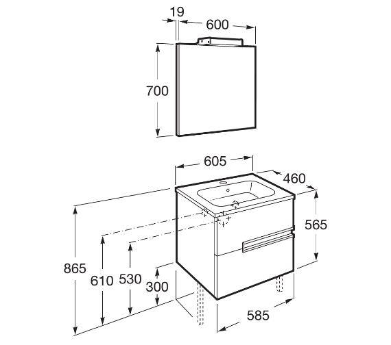 Technical drawing QS-V42301 / 855844806