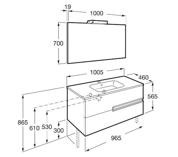 Technical drawing QS-V42303 / 855841806